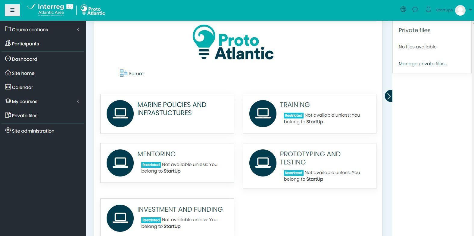 ProtoAtlantic Stakeholder Platform